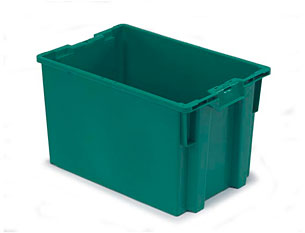 24x16x13, solid, Seafood container, fish bin, tote, commercial fishing, marine, lug, pail, bucket, bin, stackable, nesting, nest, hand held, handheld, factory direct, manufacturer rep, representative, collect, shrimp, all sizes, competitive prices, hot stamp, dock, custom, large order, truckload, full truck, shipping, ship 'n shore, boxes, durable, tray, Ropak, drop ship
