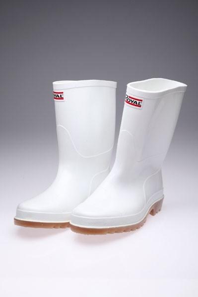 White Royal Boots