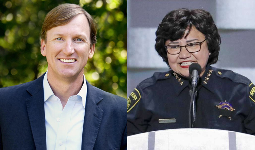 (FROM LEFT) White, Valdez  Photos by Campaign, MySanAntonio