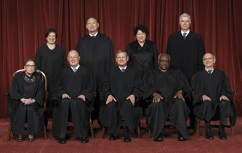 Current United States Supreme Court Justices  Photo by Franz Jantzen - U.S. Supreme Court