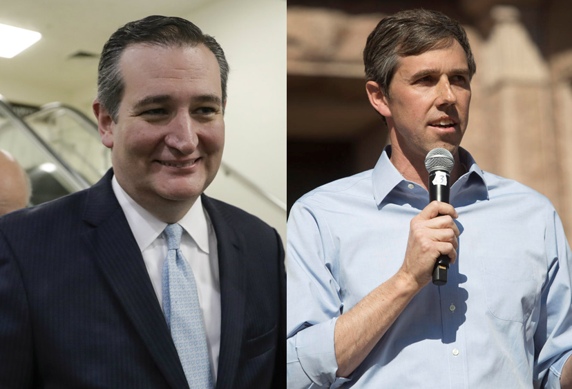 Cruz, O'Rourke  Photos by US News, KUT