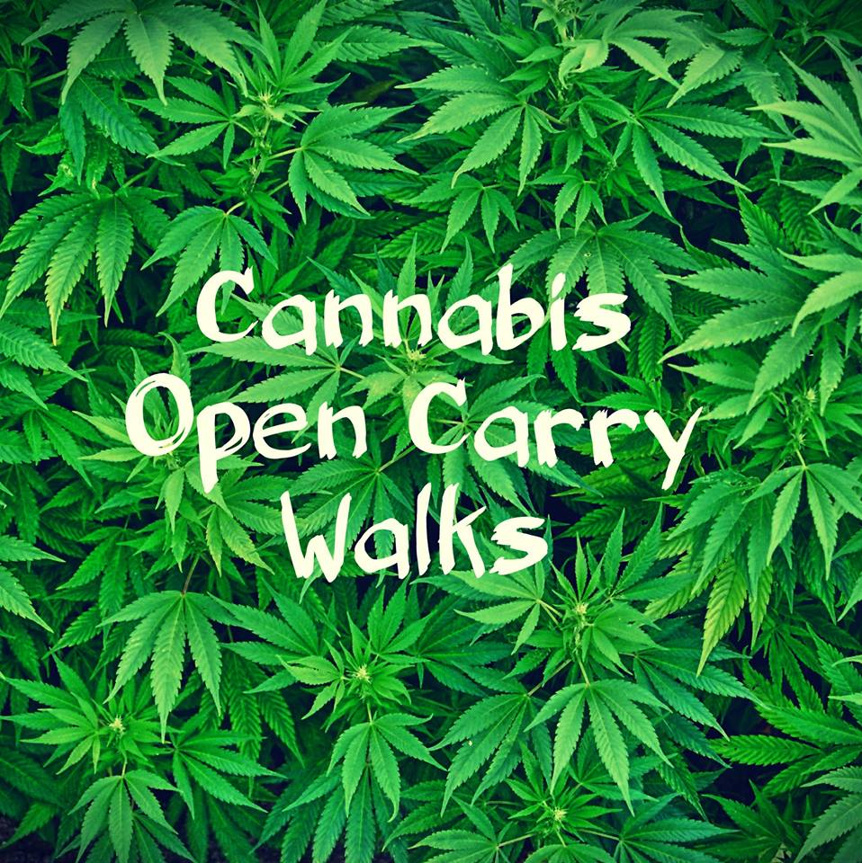 Photo by Cannabis Open Carry Walks