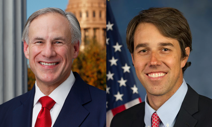Abbott, O'Rourke  Photos by Offices