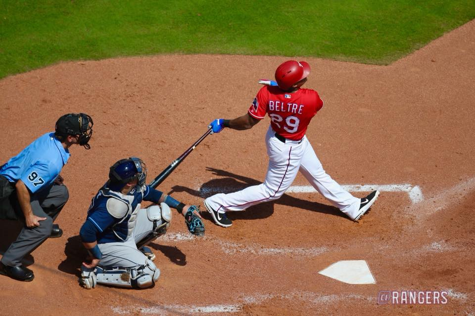 Photo by Texas Rangers