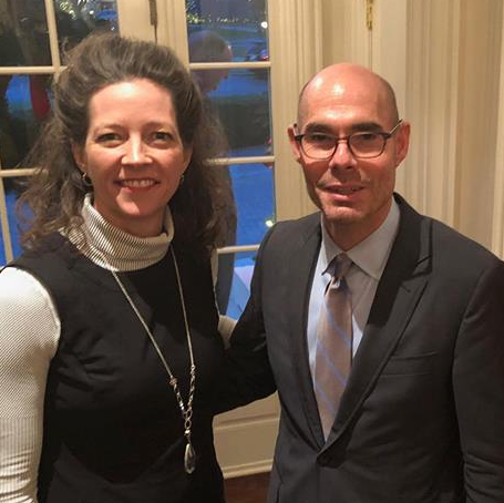Bonnen (RIGHT) with Amarillo Mayor Ginger Nelson  Photo by Bonnen Campaign