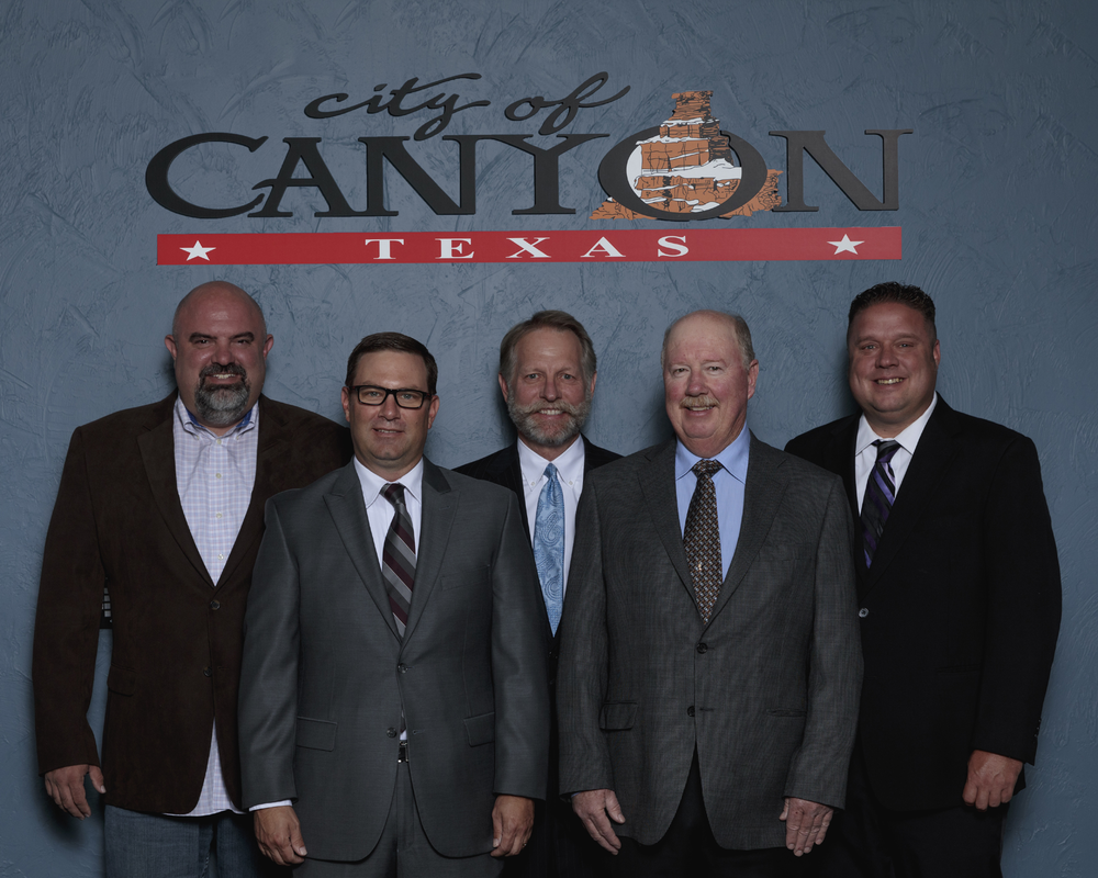 Canyon Commissioners/Photo by City of Canyon
