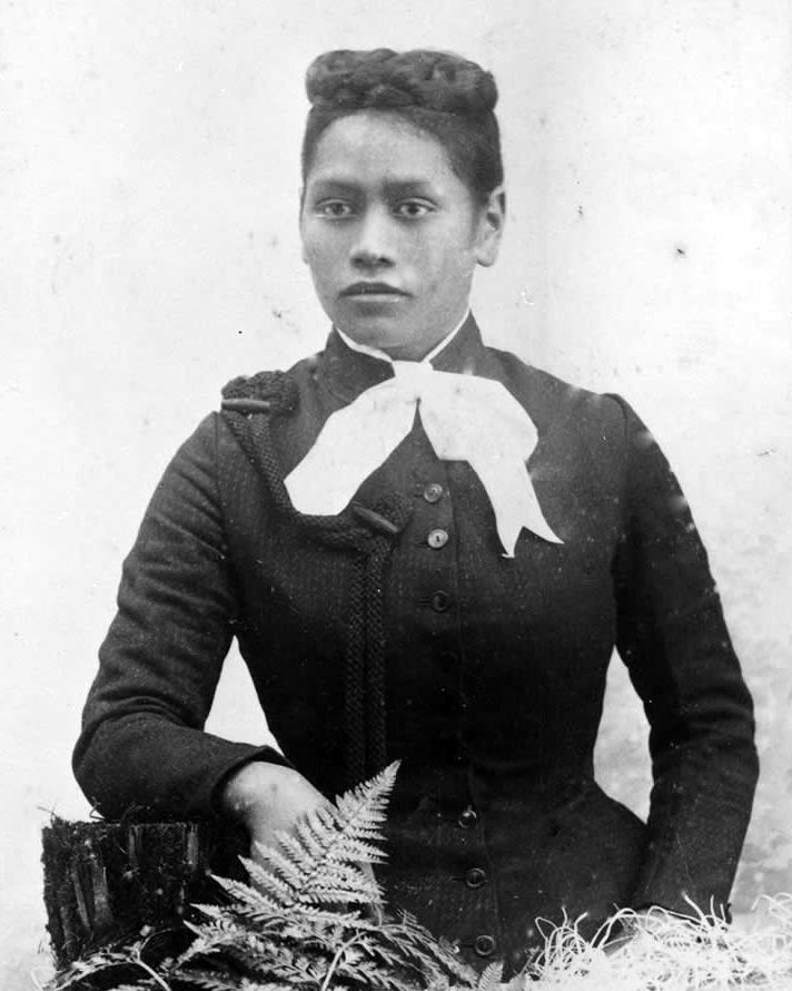 Read about  MāOri suffragist,Meri Te Tai Mangakāhia