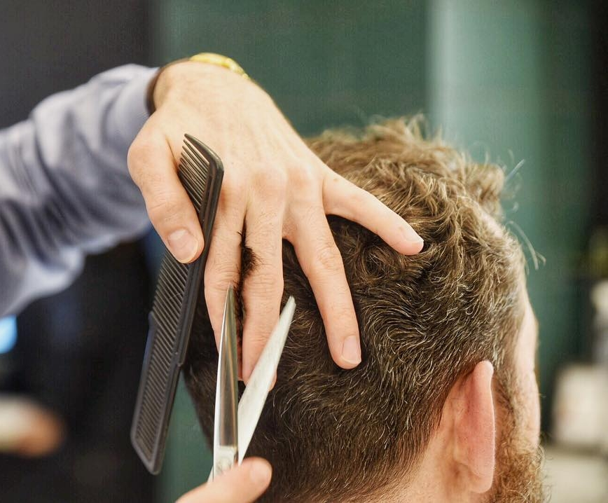Haircut - Our Master Barbers will treat him right, and give him a great cut and experience.$65 - Price includes tax and tip.