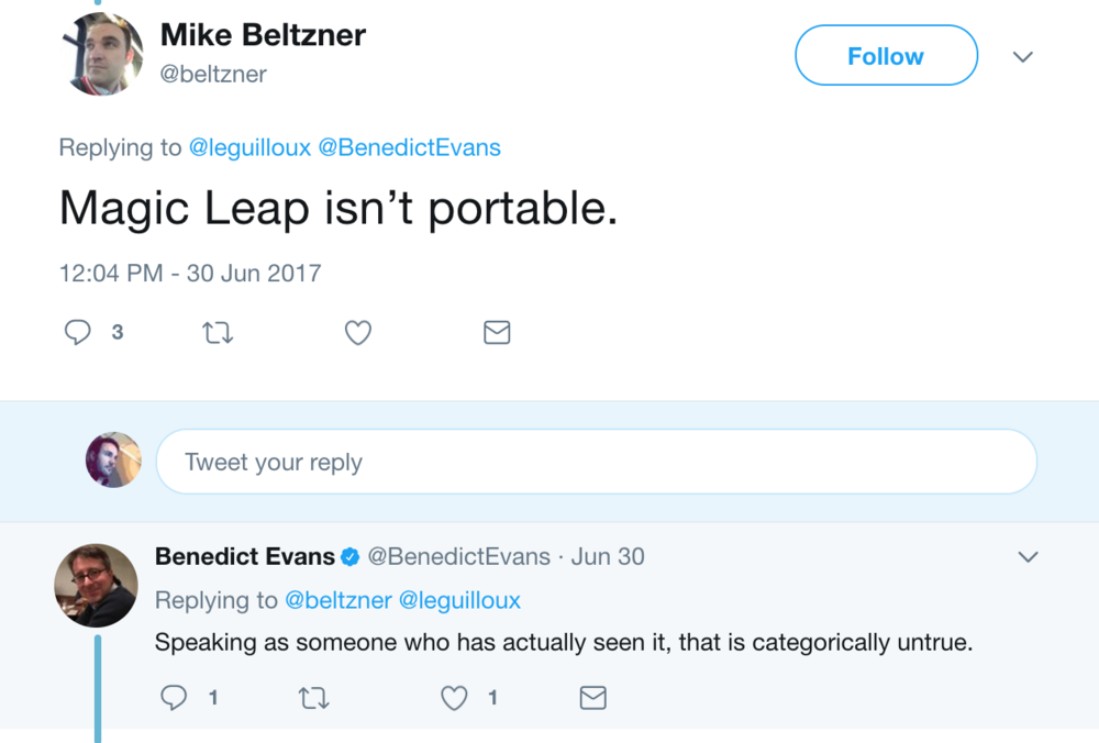 According to Magic Leap their tech was miniaturized in February 2016.