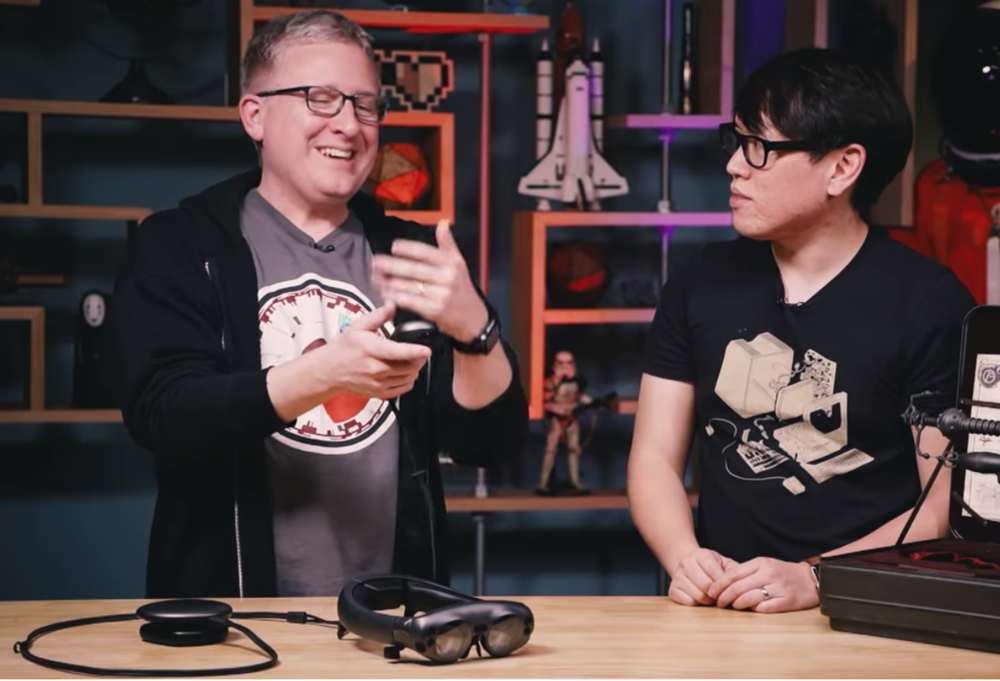 Jeremy Williams and Norman Chan of Adam Savage's Tested.