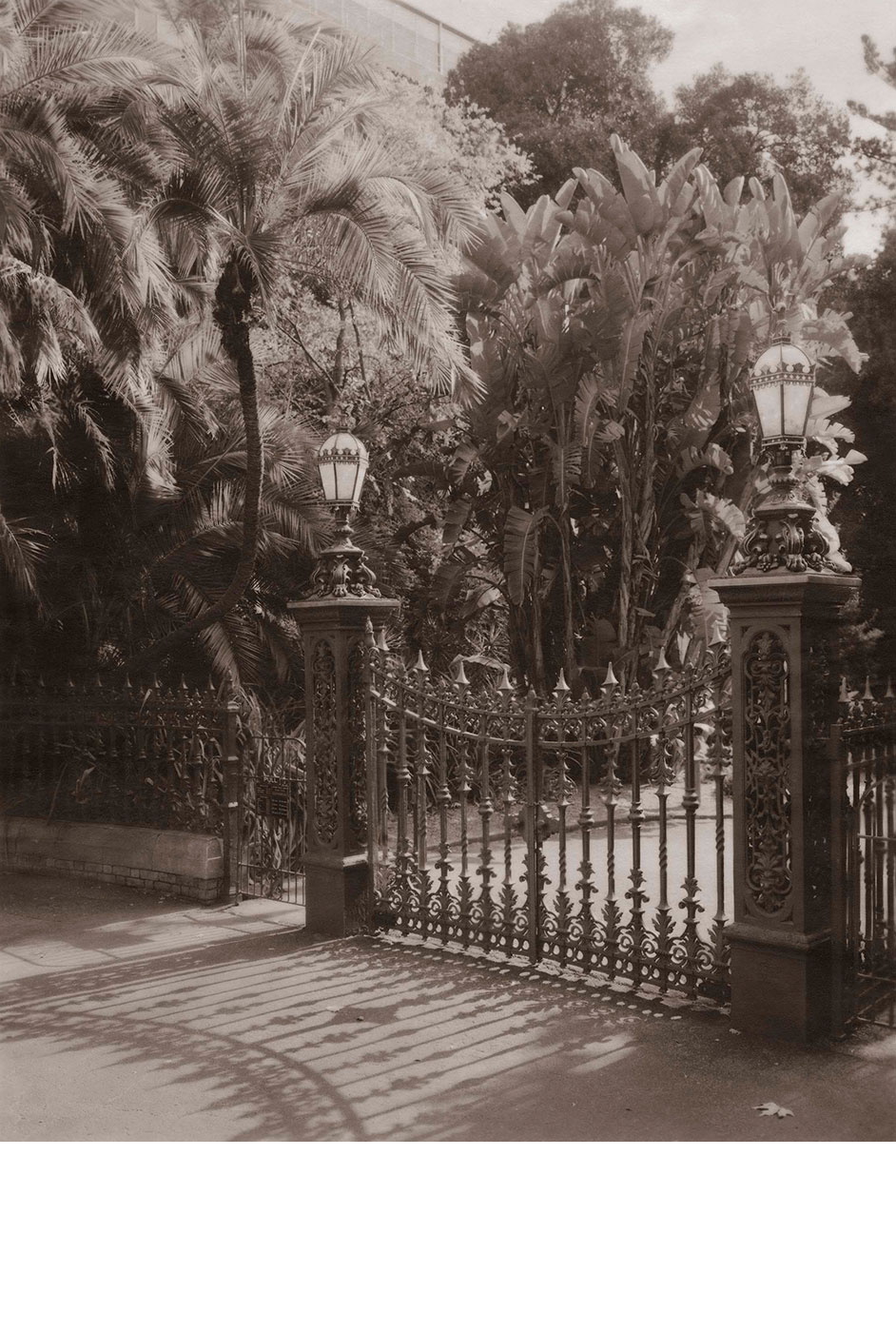 North Terrace Gates (c. 1880)