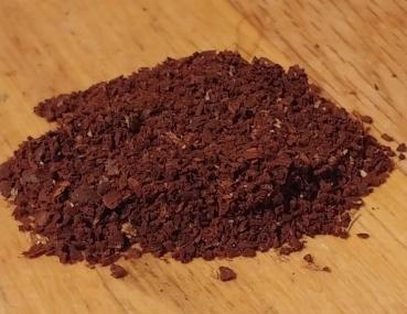 Coarse-ground coffee