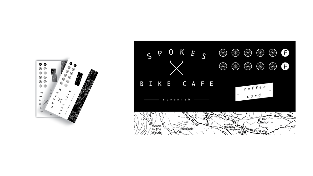 Client : Spokes Cafe  6-40437 Tantalus Way, Squamish | 604 . 898 . 5251