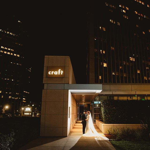 🌺 🌿 A quick sneak peek of urban reception from Jennifer and Brian's wedding yesterday at Craft Los Angels