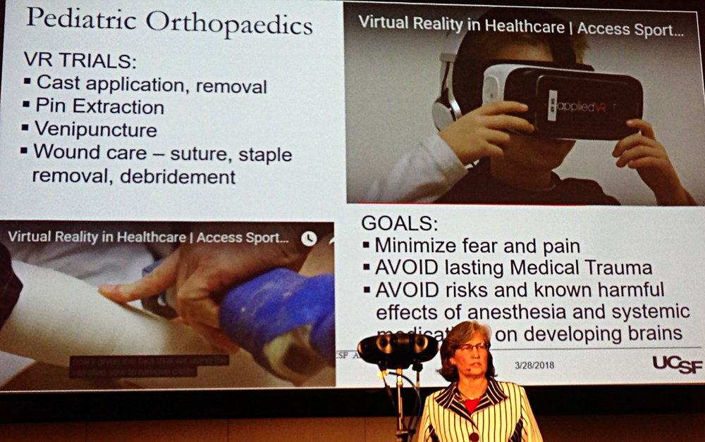 VR and paediatrics - Aenor Sawyer