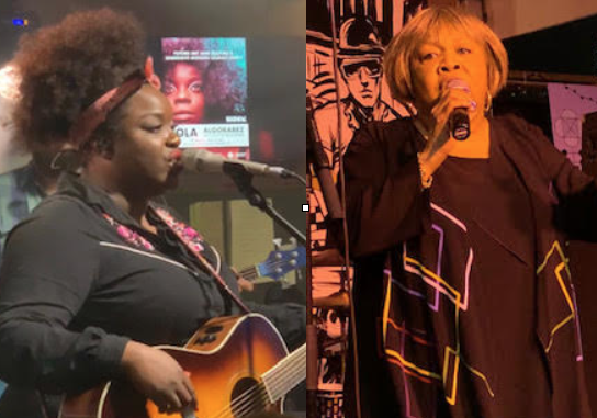 Yola Carter at British Music Embassy and Mavis Staples at Clive Bar