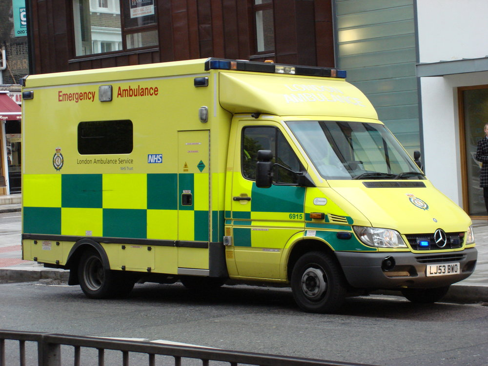 3 of 10 English ambulance trusts declared a critical situation in 2014.