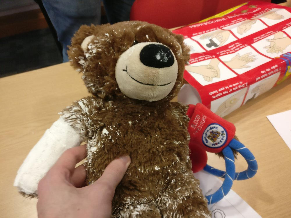Went to a Teddy Bear Hospital information session - sounds like fun!
