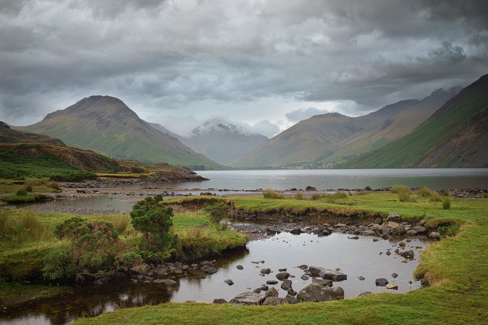 Moody Peaks Around Wastwater