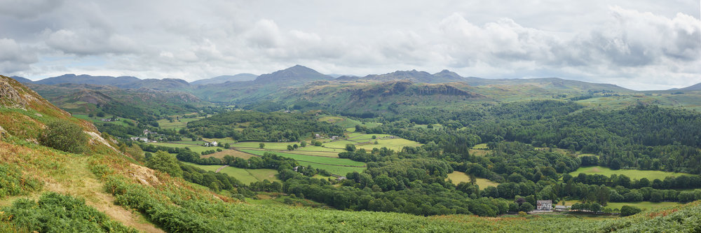 Panorama Of Eskdale