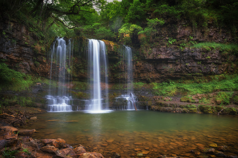 Sgwd yr Eira - probably the most famous waterfall of the Brecon Beacons