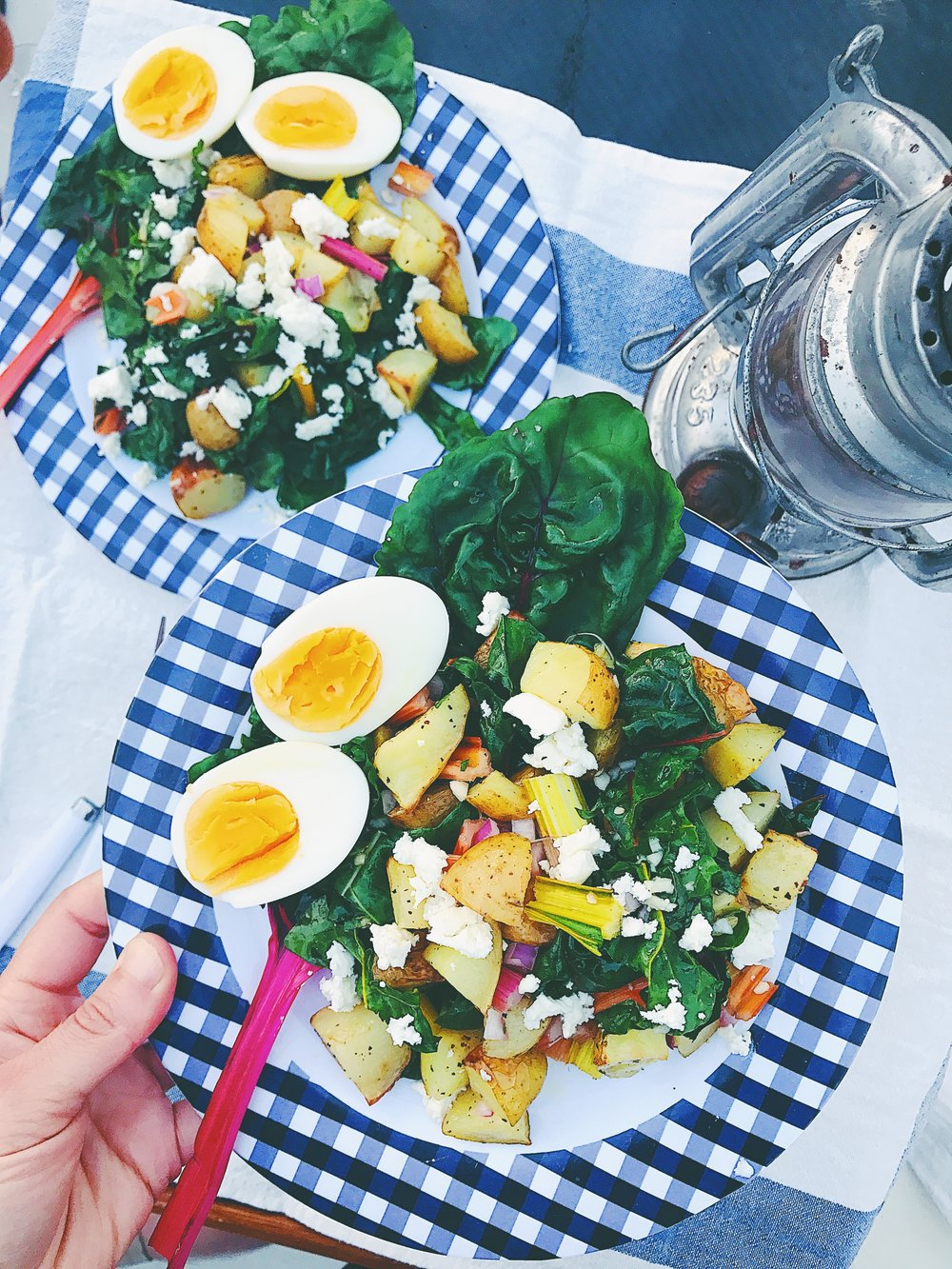Recipe: Swedish Potato Salad with Feta Cheese