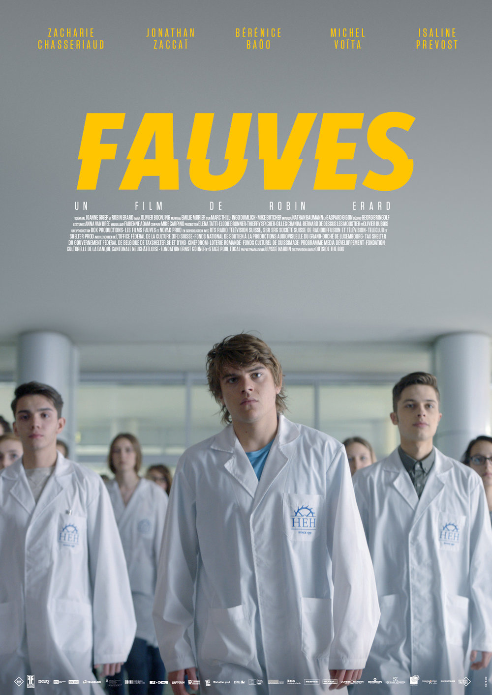 FAUVES  Feature film directed by Robin Erard, in co-production with Box Productions (CH) and Novak Prod (BE)