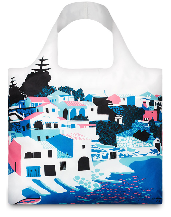 Artist's Bay Bag, LOQI, 2015.  Artwork available as print here.