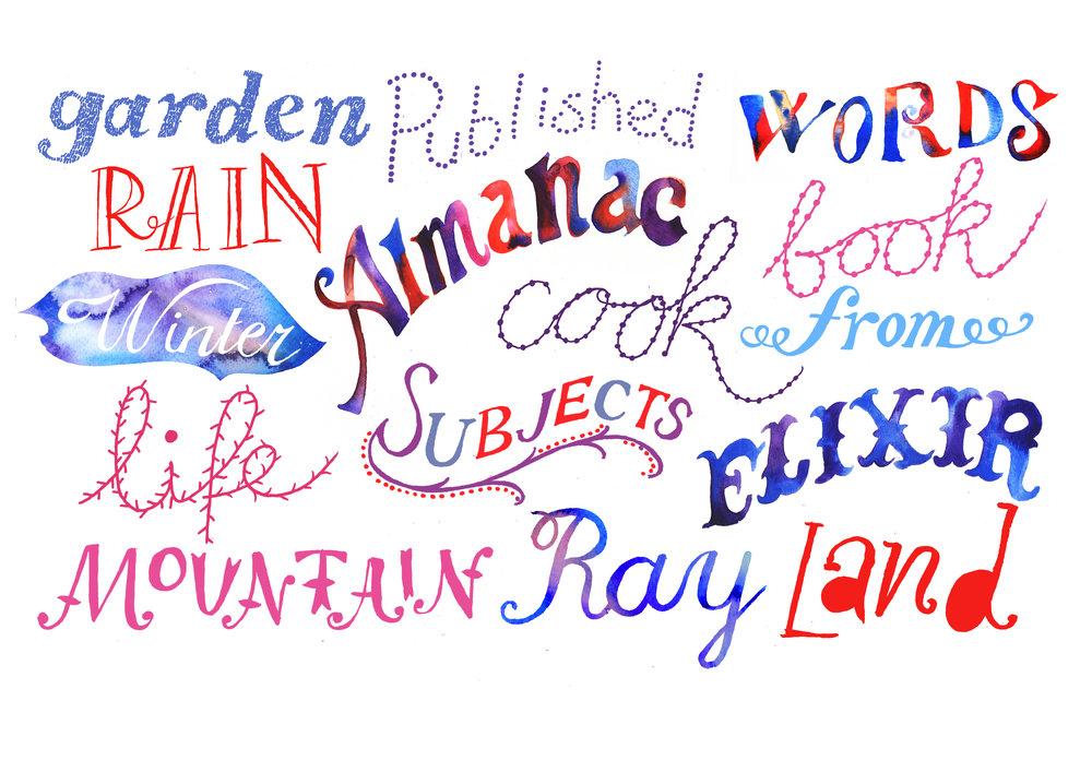 Typography, 2017