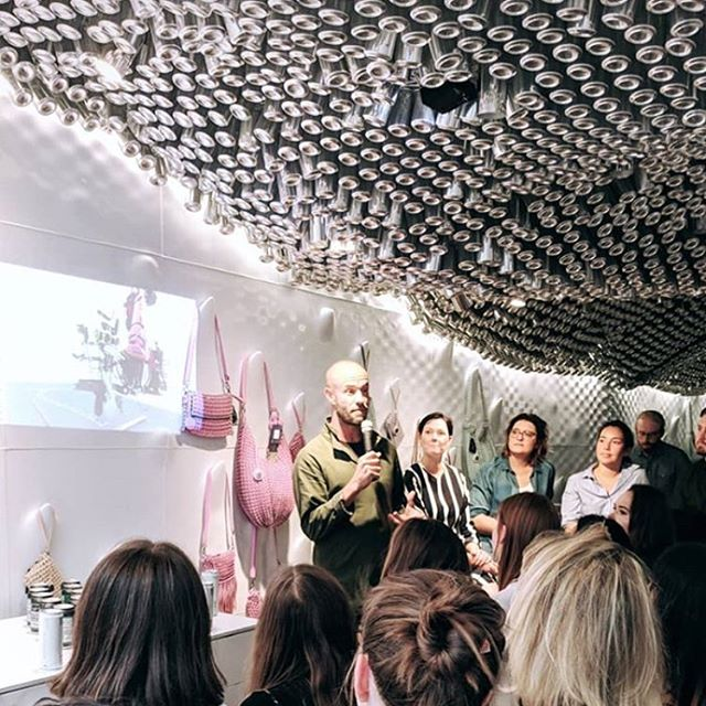 A pleasure to be part of this panel tonight with @techstyler at the incredible @bottletoppers flagship store on Regent St along with @reflowfilament and #lenzing - discussing sustainable materials, innovation and design. ⚡️⚡️ #sustainability #innovation #design #sustainablefashion #dofashionbetter