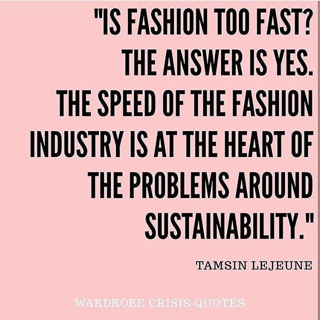 Have you listened to the latest #WardrobeCrisis podcast with our CEO Tamsin speaking to the wonderful @mrspress - they talk fast fashion, new business models, and where the industry is going. Sign up fo free to CO at the link in our bio to listen! #sustainablefashion #sustainability #fashion #fastfashion