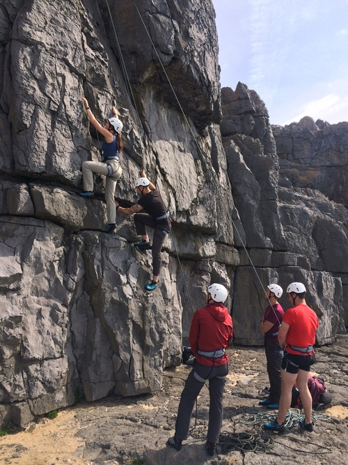 Climb Pembroke. Adventure Days & Climbing Trips - Pemboke is stunning, and there is no better way to see it than on a trip with us