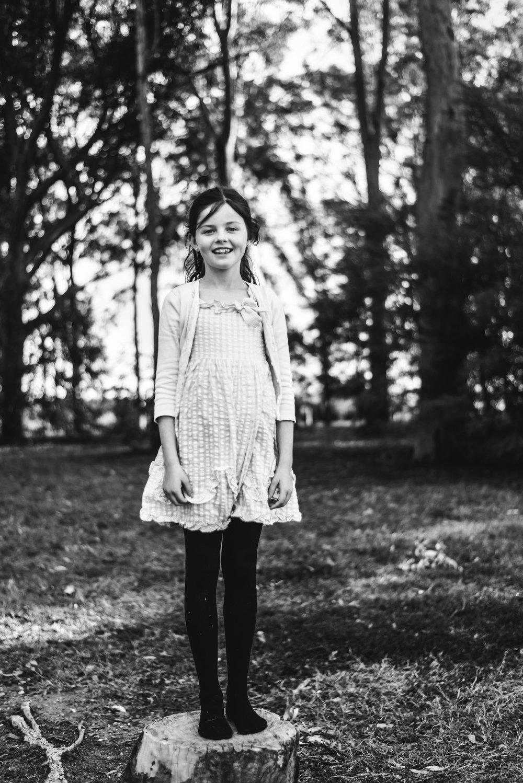 outdoor portrait of girl in North Brisbane