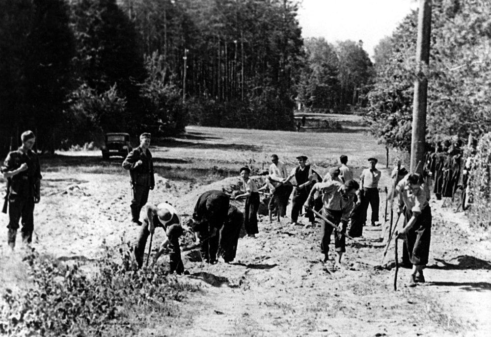 1. Grünheide forced labour camp