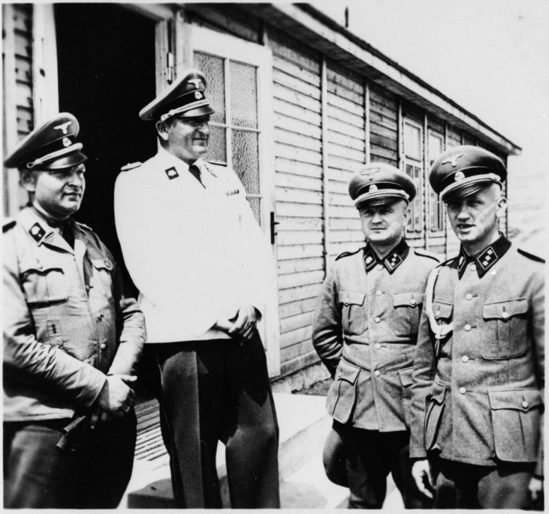 SS-Obersturmbannfuehrer Arthur Roedl the commandant of Gross-Rosen [USHMM]