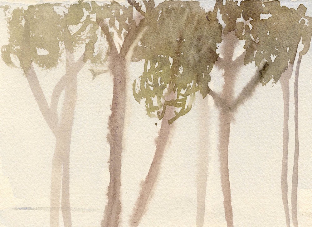 grove-brittany   watercolour  14x19cm