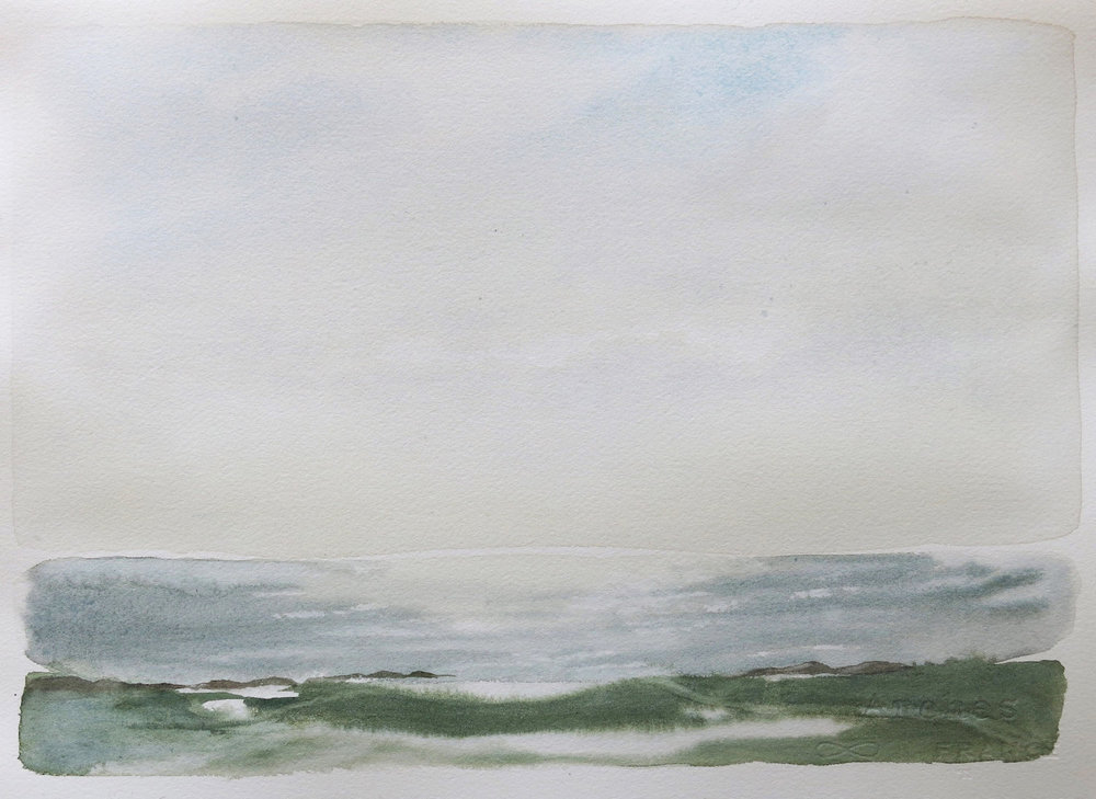 from dun i-evening-iona2  watercolour sold