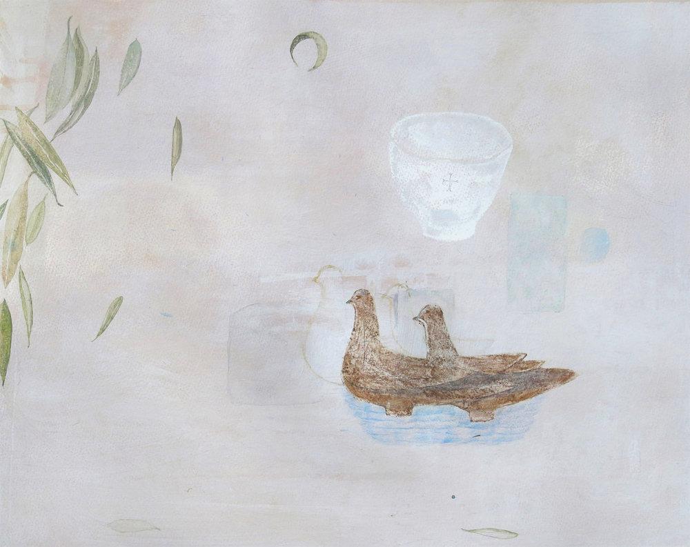 still life-peloponnese tempera-gesso 43x54cm