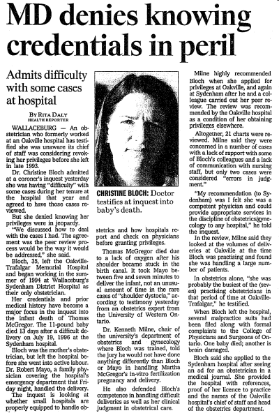 The Toronto Star, Oct 29 1997 pg A3