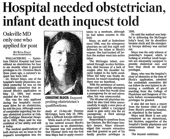 The Toronto Star, Oct 30 1997 pg A2