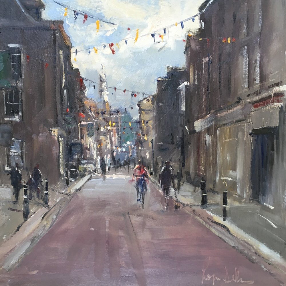 Buntings Rochester 12x12 Oil on board