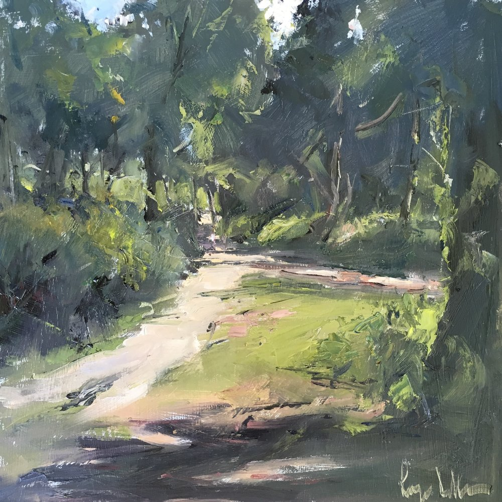 Punchbowl pathways 12x12 OIl on board