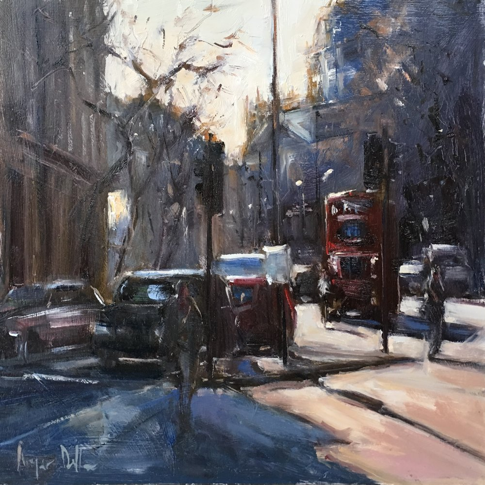 Aldwych 12x12 Oil on board