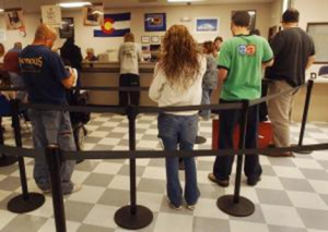 That long line at the DMV may get a little shorter thanks to a new online-reservation system the state of Colorado unveiled Thursday.