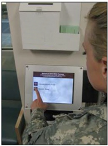 """Evans Army Community Hospital, Fort Carson, Colo., has unveiled a new """"Q-Flow"""" patient tracking system to improve access to care and patient management."""