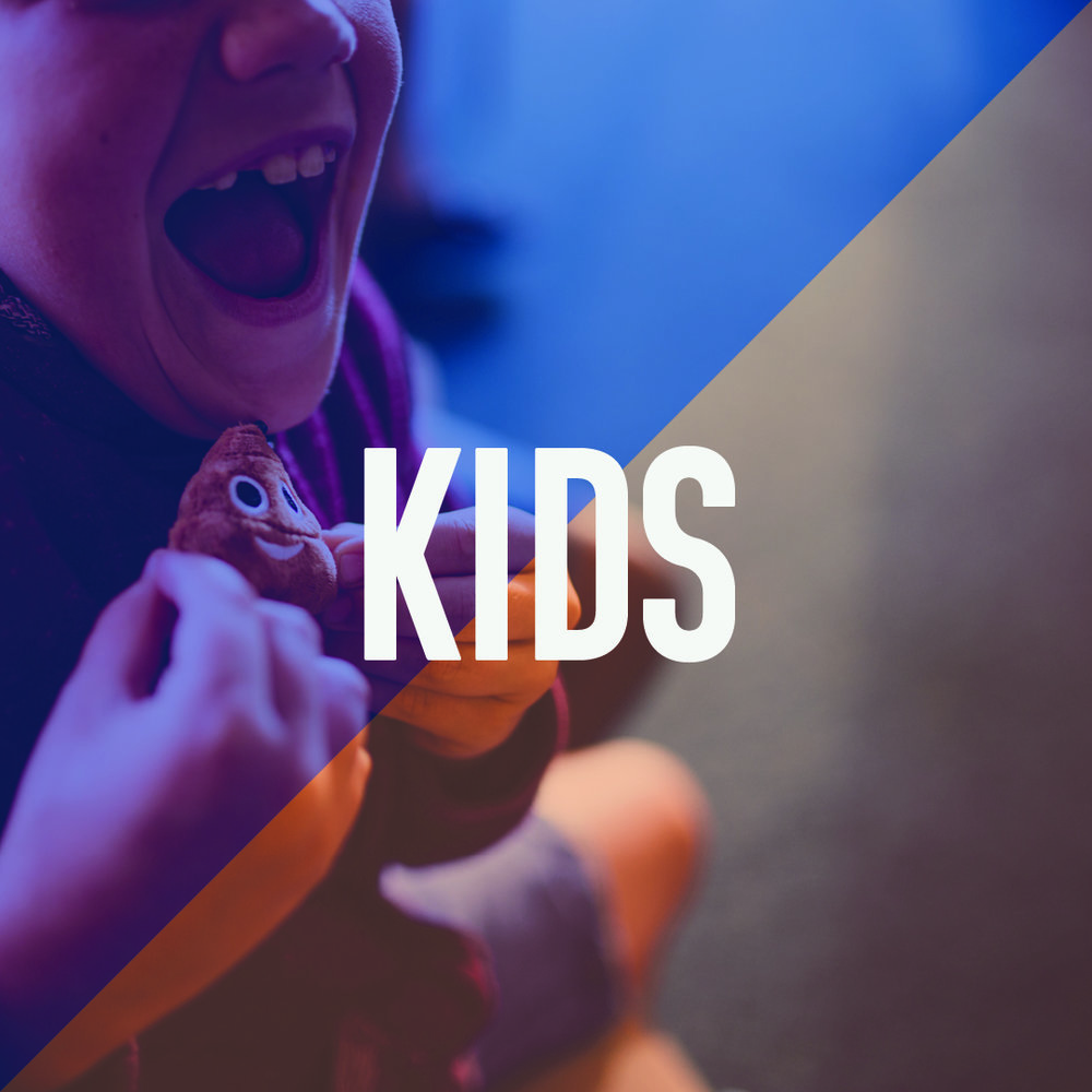 Not only is being on Kids team the most fun, but you get to play a part in building faith foundations that will last for the rest of their lives. If you're passionate about seeing kids encounter Jesus, we need you!