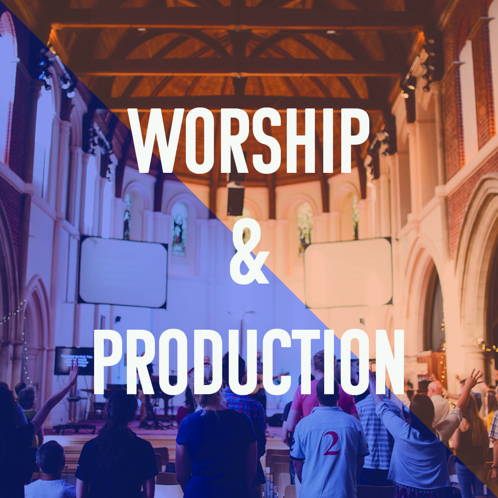We want to use our gifts and skills to enable the church to worship God in spirit and truth. If you are a gifted musician, singer or have skills in production or creative media, we'd love to hear from you.