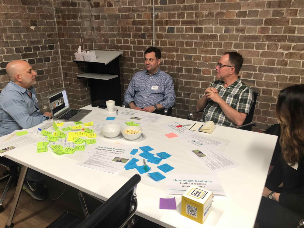 Design Thinking Session: Neutopia