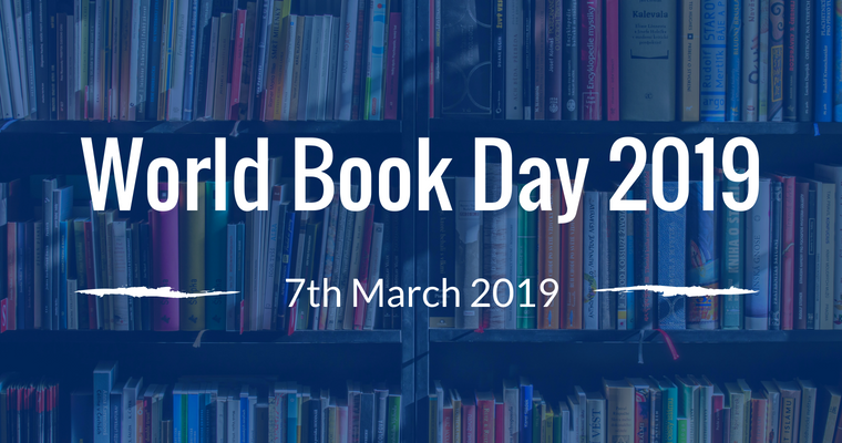 BOOK WEEK (MON. 4TH - FRI. 8TH MARCH 2019)     *WORLD BOOK DAY - THU. 7TH MARCH 2019*