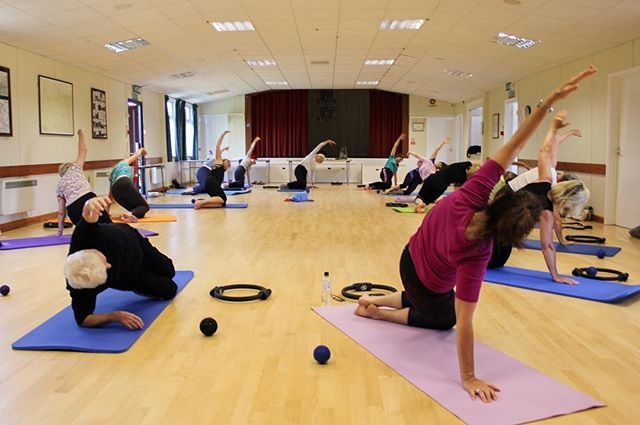 One of my weekly Pilates classes. Don't forget as well as classes at a range of levels I also offer private tuition.